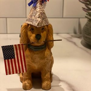 Patriotic puppy by Bethany Lowe Designs